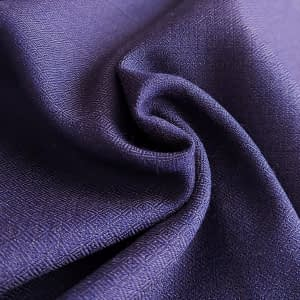 Diamond twill wool blue&anthracite
