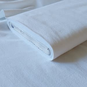 Plainweave cotton white