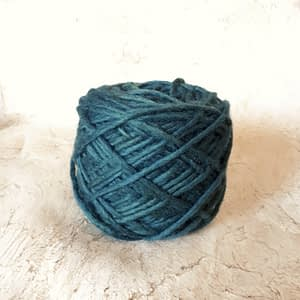 Yarn wool petrol 2