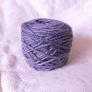 Yarn wool lila