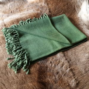 Blanket green small