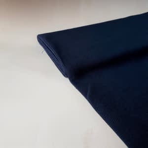 Plainweave linen dark blue