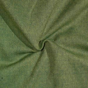 Diamond twill wool green&smoky-creme