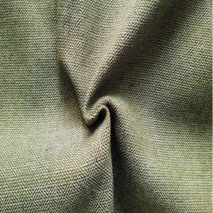 Diamond twill wool moss-green&creme