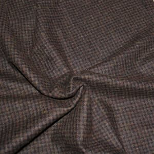 Plainweave wool brown & black