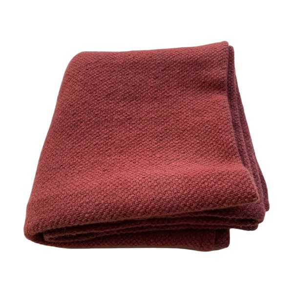 Baby blanket red